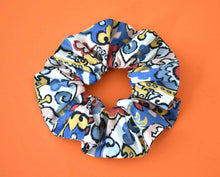 Multicolour Graphic Scrunchie - Tot Knots of Brighton