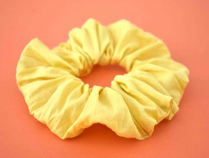 Bright Yellow Scrunchie - Tot Knots of Brighton