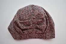 Ladies Turban Hat - Red, White and Blue Pepper print - Tot Knots of Brighton