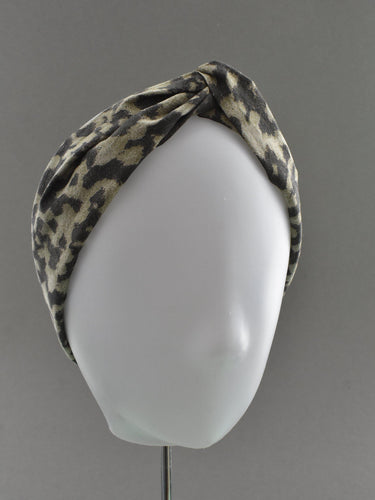 Kids Tot Knot Twisted hairband - Liberty of London Animal print - Tot Knots of Brighton