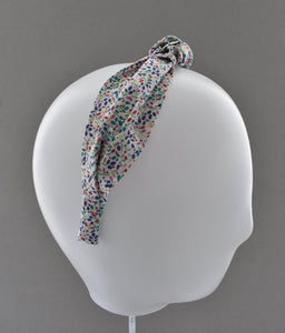 Ladies Tot Knot Alice band - Liberty of London Summertime-Adult hairband-Tot Knots of Brighton