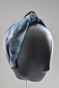 Ladies Knot Alice band - Liberty of London Sybil Campbell Lilestone wool