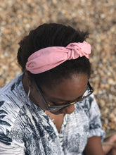 Ladies Tot Knot Alice band - Liberty of London Dusty Pink-Adult hairband-Tot Knots of Brighton