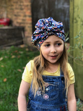 Little Land Girl Baby Hat - Liberty of London Swimmers print - Tot Knots of Brighton