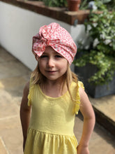 Little Land Girl Baby Hat - Liberty of London Pink Floral