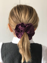 Liberty of London Aubergine Purple Scrunchie