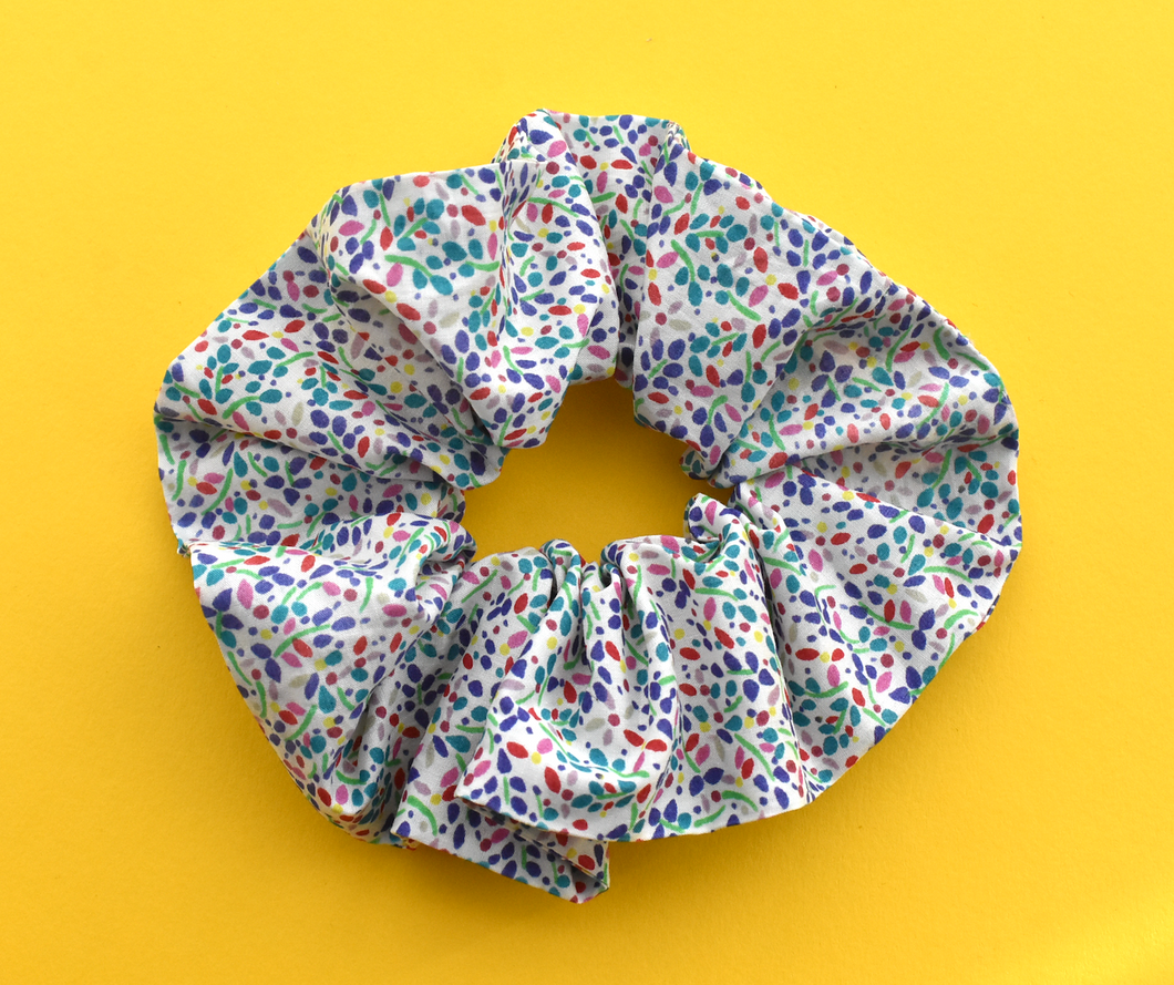 Scrunchie - Liberty of London Summertime - Tot Knots of Brighton