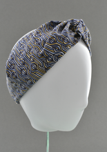 Kids Tot Knot Twisted hairband - Liberty of London Torsten print - Tot Knots of Brighton