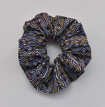 Scrunchie - Liberty of London Torsten blue print-Hair accessory-Tot Knots of Brighton