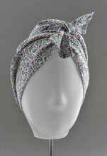 Ladies Turban Hat - Liberty of London Summertime print - Tot Knots of Brighton