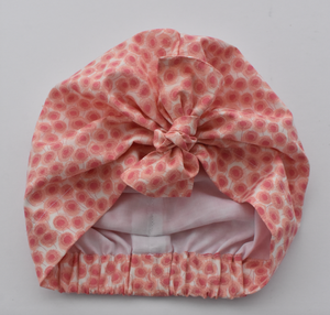 Little Land Girl Baby Hat - Liberty of London Pink Floral - Tot Knots of Brighton