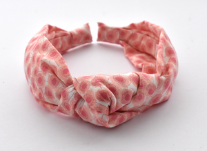 Ladies Tot Knot Alice band - Liberty of London Pink Floral print-Adult hairband-Tot Knots of Brighton