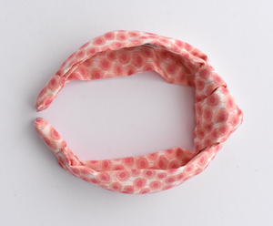 Kids Tot Knot Alice band - Liberty of London Pink Floral print - Tot Knots of Brighton