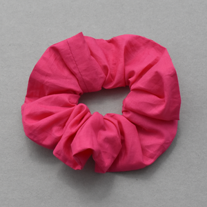 Hot Pink Scrunchie - Tot Knots of Brighton