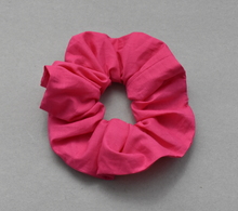 Hot Pink Scrunchie-Hair accessory-Tot Knots of Brighton