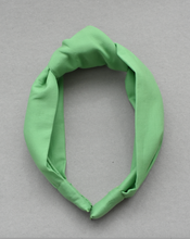 Ladies Tot Knot Alice band - Liberty of London Bright Green-Adult hairband-Tot Knots of Brighton