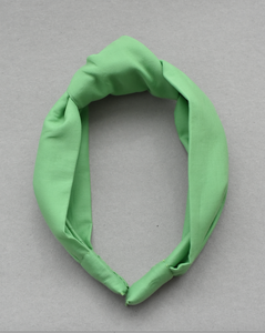Ladies Tot Knot Alice band - Liberty of London Bright Green - Tot Knots of Brighton