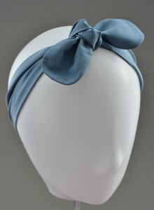 Ladies Tot Knot hairband - Liberty of London Aviator Blue-Adult hairband-Tot Knots of Brighton