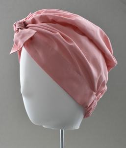 Ladies Turban Hat - Liberty of London Dusty Pink