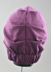 Ladies Turban Hat - Liberty of London Aubergine Purple