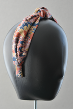 Ladies Tot Knot Alice band - Liberty of London Oban Peacock