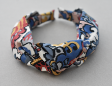 Kids Tot Knot Alice band - Liberty of London Merchant print-Children hairband-Tot Knots of Brighton