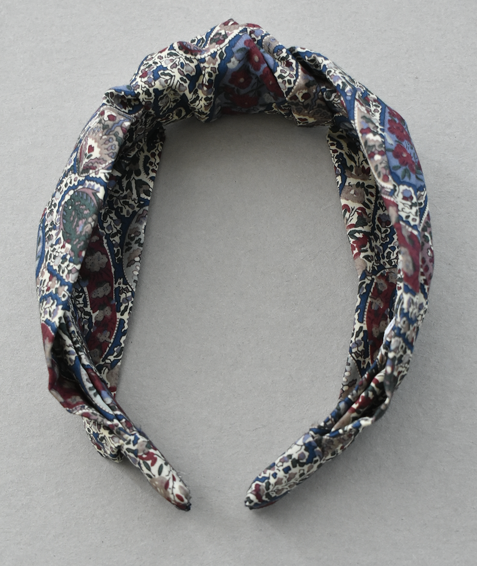 Kids Tot Knot Alice band - Liberty of London Bourton Paisley
