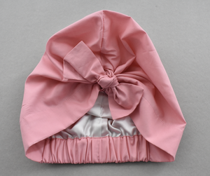 Little Land Girl Baby Hat - Liberty of London Dusty Pink