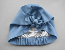 Little Land Girl Baby Hat - Liberty of London Airforce Blue