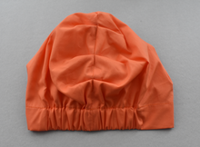 Little Land Girl Baby Hat - Liberty of London Tangerine Orange