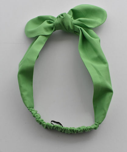 Kids Tot Knot Tie hairband - Liberty of London Green-Children hairband-Tot Knots of Brighton
