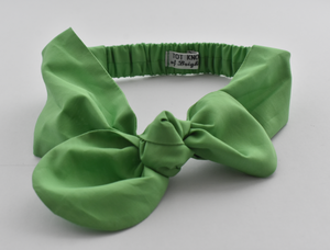Kids Tot Knot Tie hairband - Liberty of London Green
