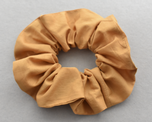 Liberty of London Mustard Yellow Scrunchie-Hair accessory-Tot Knots of Brighton