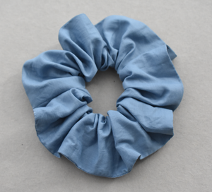 Liberty of London Airforce Blue Scrunchie