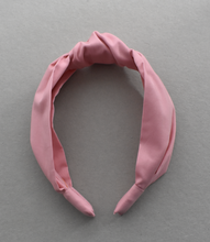 Kids Tot Knot Alice band - Liberty of London Dusty Pink