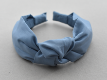 Kids Tot Knot Alice band - Liberty of London Airforce Blue