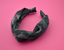 Ladies Knot Alice band - Liberty of London Lilestone wool-Adult hairband-Tot Knots of Brighton