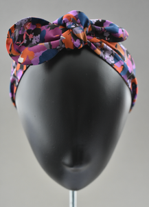 Ladies Tot Knot hairband - Liberty of London Camo Flowers