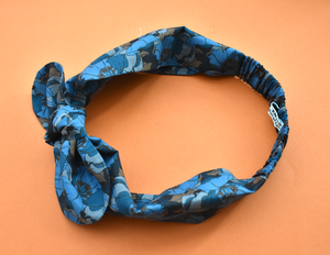 Ladies Tot Knot hairband - Liberty of London Little Eustacia in Blue