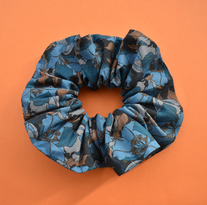 Scrunchie in Liberty of London Little Eustacia in Blue