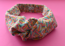Ladies Twisted Turban Headband - Liberty of London Derby Day