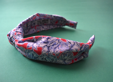 Ladies Knot Alice headband - Liberty of London Matilda Tulip