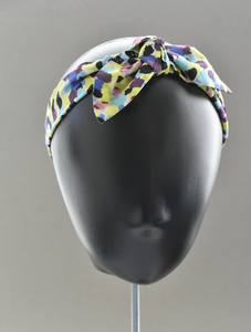 Ladies Tot Knot hairband - Liberty of London Morning Dew in Yellow