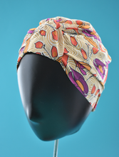 Salty Sea Knot - Swimming Cap Topper - Swim Turban - Vintage Liberty Adejade