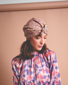 Ladies Turban Hat - Liberty of London Derby Day