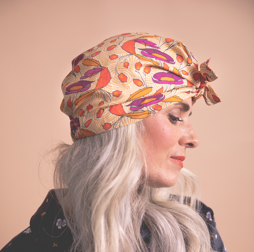 Ladies Turban Hat - Vintage Liberty of London Adelajde - Art deco design