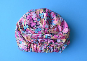 Ladies Turban Hat - Liberty of London Thorpe Bright Floral - Tot Knots of Brighton