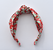 Ladies Tot Knot Alice band - Liberty of London Wiltshire Berry print-Adult hairband-Tot Knots of Brighton