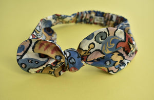 Kids Tot Knot hairband - Liberty of London Merchant Graphic Print - Tot Knots of Brighton