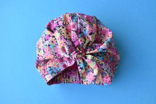 Little Land Girl Baby Hat - Pink Floral Thorpe - Tot Knots of Brighton